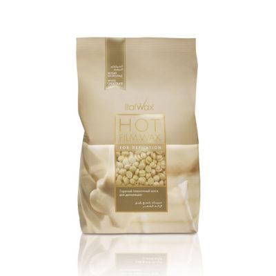 ItalWax горячий воск в гранулах Белый Шоколад 1 кг
