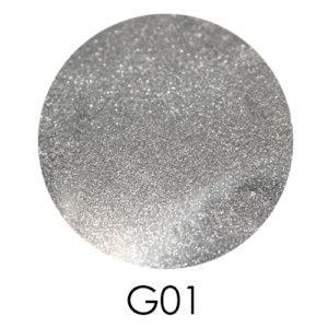 Зеркальный глиттер Adore G01