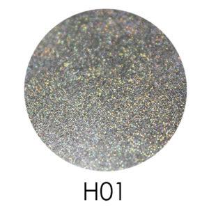 Голограммный глиттер Adore H01
