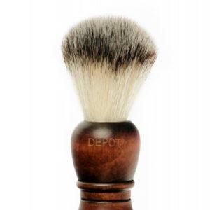 Depot Деревянный помазок для бритья