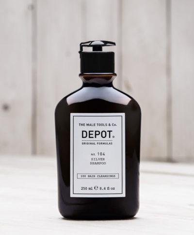 Depot NO 104 Шампунь для седых, светлых или обесцвеченных волос