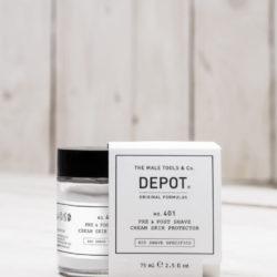 Depot NO 401 Защитный крем до и после бритья