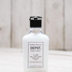 Depot NO 402 Смягчающая жидкость до и после бритья