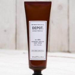 Depot NO 404 Успокаивающий крем для бритья / С помазком