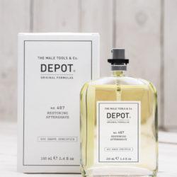 Depot NO 407 Восстанавливающий и освежающий лосьон после бритья