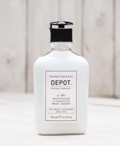 Depot NO 501 Очищающий и увлажняющий шампунь для бороды