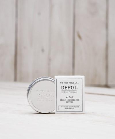Depot NO 502 Питательное и смягчающее масло для бороды и усов