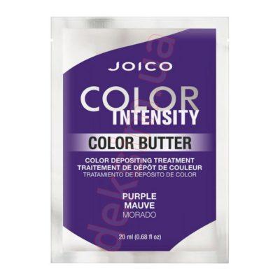 Цветное масло для волос Joico Color Intensity Care Butter Purple Фиолетовый, 20 мл