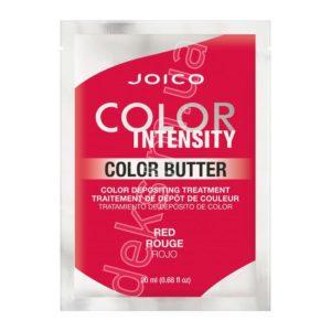 Цветное масло для волос Joico Color Intensity Care Butter Red Красный, 20 мл