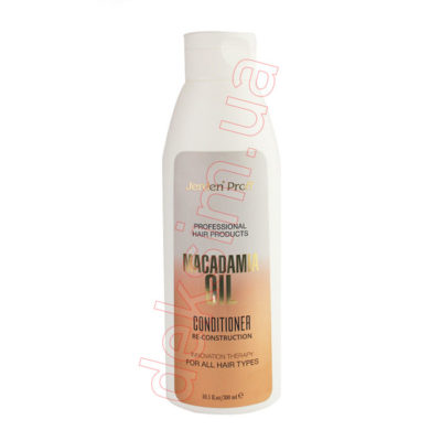 Кондиционер для волос Jerden Proff с маслом макадамии, 300 мл