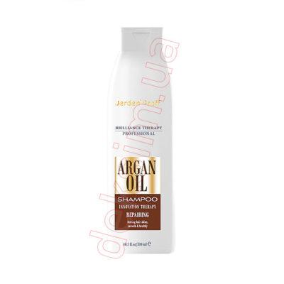 Восстанавливающий шампунь для волос Jerden Proff с аргановым маслом, 300 мл