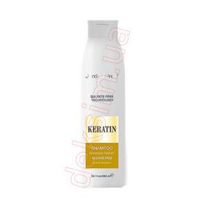 Шампунь для волос Jerden Proff безсульфатный с кератином, 300 мл