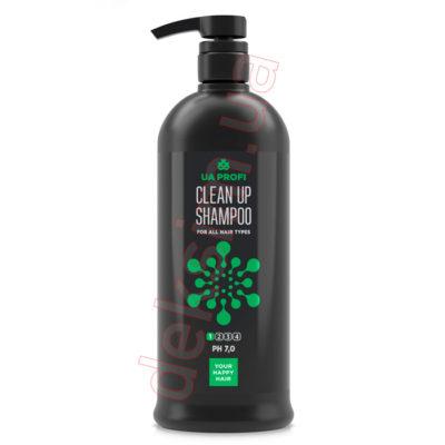 Шампунь для глубокого очищения волос всех типов UA-Profi, 1000 мл