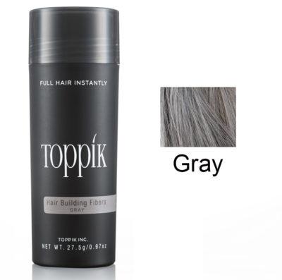 Toppik Загуститель волос (пудра для волос) Серый Gray 27,5 г