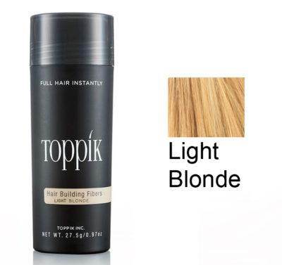 Toppik Загуститель волос (пудра для волос) Light Blonde Светлый Блонд 27,5 г