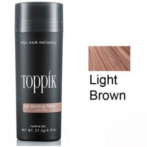 Toppik Загуститель волос (пудра для волос) Светло коричневый Light Brown 27,5 г