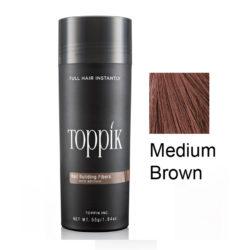 Toppik Загуститель волос (пудра для волос) Каштановый Medium Brown 27,5 г