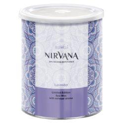 ItalWax Лаванда Нирвана Nirvana теплый воск для депиляции в банке 800 мл