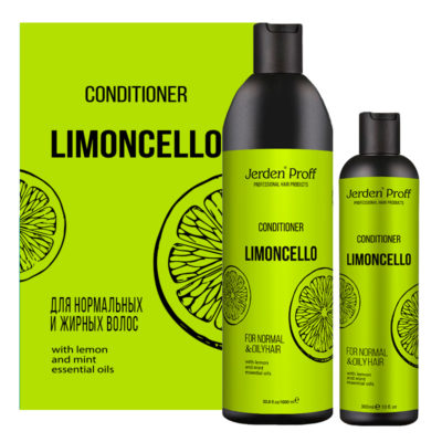 Jerden Proff кондиционер для волос Limoncello, 300/1000 мл